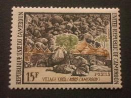 "CAMEROUN  *  *  De  1973    ""    Paysages  :  Village  Kirdi     ""  N° 559                  1 Val . - Cameroon (1960-...)"