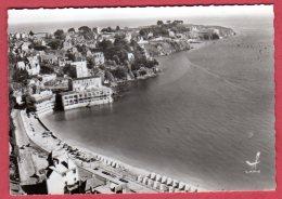 22 SAINT-CAST-PLAGES - La Plage, Le Port - La Pointe De L'Isle (En Avion Au-dessus De ...) - Saint-Cast-le-Guildo