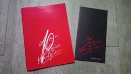 Programme Les 10èmes Victoires De La Musique Palais Des Congrès Paris Illustré 1995 Chanson - Musique