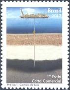 BRAZI 2012 SHIPS BOATS PRE-SALT OF LULA OIL ENERGY - Brazil
