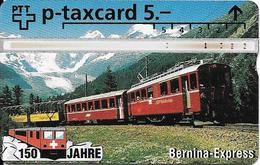 PTT: KP-94/340A2 409L 150 Jahre Schweizer Bahnen - Bernina-Express - Svizzera
