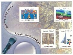 Timbres Maroc Bloc Feuillet N° 40 De 2011 Art Et Culture : Paravents - Marruecos (1956-...)