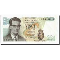 Belgique, 20 Francs, 1964, KM:138, 1964-06-15, SUP - [ 6] Treasury