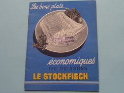 Les Bons Plats économiques Les Poissons : LE STOCKFISCH ( Zie/voir Foto Voor/pour Détails ) ! - Autres Collections