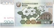 North Korea - Pick 48 - 200 Won 2005 - Unc - Corea Del Nord
