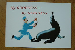 CP - Bière - My Goodness - My Guiness - Otarie - Pubblicitari