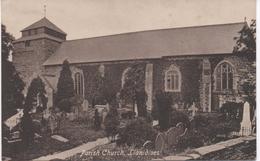 PARISH CHURCH - LLANIDLOES - POWYS/MONTGOMERYSHIRE BORDERS - - Montgomeryshire
