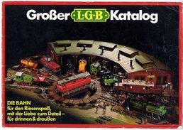 CATALOGUE  GROSBER  KATALOG L G B  1979   - NOMBREUSES  ILLUSTRATIONS  TRAINS GARES GADGETS ETC  -  19 PAGES - Catalogues