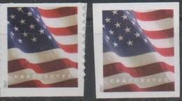 USA, 2017,MNH, FLAGS, COILS, 2 PRINTINGS, AP& BCA PRINTINGS - Stamps