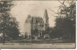Cpa Carte Photo Soumagne Château Hauzeur Labousche-Mélin 1904 Photo Gevaert - Soumagne