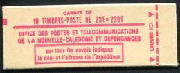 NOUVELLE CALEDONIE - CARNET PA N° C139 * * - CONCORDE DE 1973 - LUXE & RARE - Cuadernillos/libretas