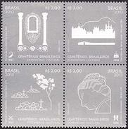 BRAZI 2013 HISTORY CEMETERIES CULTURAL HERITAGE - Unused Stamps