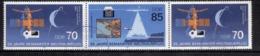 DDR 1986, Mi. Nr. 3007-3008 WZd673, 25 Jahre Bemannter Weltraumflug, Gestempelt  (dv022) - DDR