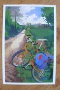 CP - Vélo De Facteur - Carte Promotionnelle Offerte Par La Poste - Poste & Postini
