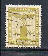 ALLEMAGNE 1938 SERVICE N° 113 (o)(YT) 24p. JAUNE OLIVE AIGLE - Officials
