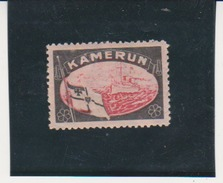 German Germany Mourning Labels Lost Colonies Cameroun Kamerun Cinderella Issued In 1920 By Sigmund Hartig MH - Colony: Cameroun