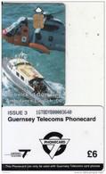 GUERNSEY ISL. - Rescue Services/Ambulance Launch(large CN), Tirage %17000, Used - United Kingdom