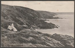 Clodgy Point, St Ives, Cornwall, 1913 - Williams Series Postcard - St.Ives