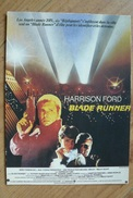 CP - Reproduction De L'affiche Du Film : Blade Runner - 1982 - Posters On Cards