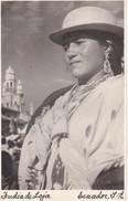POSTAL DE ECUADOR DE UNA INDIA DE LOJA (FOTOTECNIA STEIN - QUITO) - Ecuador