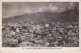 POSTAL DE CARACAS MONUMENTAL - VISTA PARCIAL DEL AÑO 1949 (VENEZUELA) - Venezuela