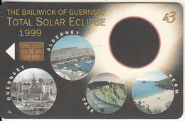 GUERNSEY ISL. - Total Solar Eclipse, Used - United Kingdom