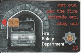 GUERNSEY ISL. - Fire Safety Week 2, Tirage 6000, Used - United Kingdom