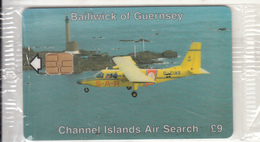 GUERNSEY ISL. - Rescue Services 3/Air Search, Tirage 8511, Mint - United Kingdom