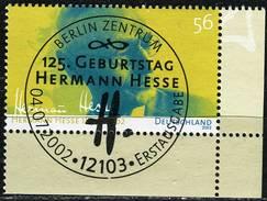 A13-30-5) BRD - Mi 2270 ECKE REU - Zentrisch OO Gestempelt (E) - 56C      Hermann Hesse - Oblitérés
