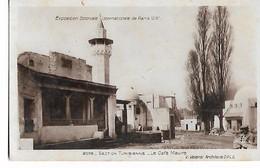 Exposition  Coloniale  Internationale -  Paris   1931  -  Section  Tunisienne  -  Le   Café  Maure - Esposizioni