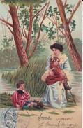 Cartes Postales > Thèmes > Enfants > Groupes D'enfants Au Bord De L'eau - Grupo De Niños Y Familias