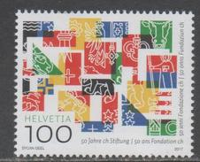 SWITZERLAND, 2017, MNH, COAT OF ARMS, 50 YEARS OF FOUNDATION OF FEDERAL COOPERATION,1v - Stamps