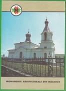 Moldova ,  Moldavie , 1992 , Butuceni , Orhei , Curch , Pre-paid Postcard - Moldova