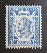 LOT VL4384/10 - 1924 - RONSARD - N°209 NEUF ** - France