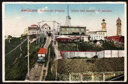 Spanien Barcelona - Cumbre Del Tibidabo - Gelaufen1929 - Eisenbahnen