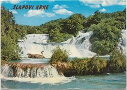 Slapovi Krke, Used Postcard [20129] - Croatia