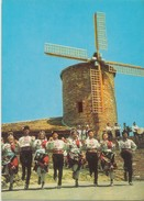 "Bulgaria, Slantschev Brjag-Restaurant, ""Windmill"", Unused Postcard [20131] - Bulgaria"