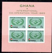 BF80 - GHANA 1965 , Yvert Il BF N. 16  ***  COOPERATION YEAR - Ghana (1957-...)
