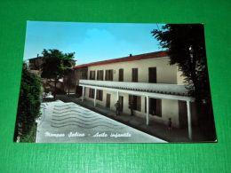 Cartolina Mompeo Sabino - Asilo Infantile 1969 - Rieti