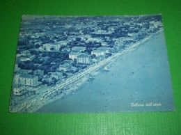 Cartolina Bellaria - Panorama Dall' Aereo 1961 - Rimini