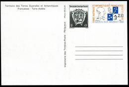TAAF - ENTIER POSTAL - CP N°  2 - NEUVE - LUXE - Enteros Postales