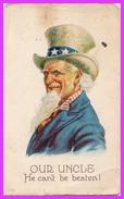 ONCLE SAM (USA) - Carte Soldat Américain 1919 - Andere Thematiken