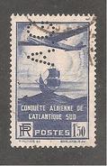 Perforé/perfin/lochung France  No 320 A.G  Département Etranger Hachette - Perfins
