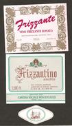 ITALIA - 2 Etichette Vino FRIZZANTE Cantine VI.MO Di Gattatico E BOSCO ELISEO Rosato EMILIA - Abbazia Di Pomposa - Vino Rosato