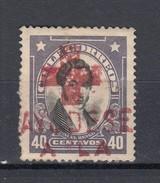 Chile 10 C Rengifo 1915 - Roter Kreuz-Stempel Gestempelt - Chile