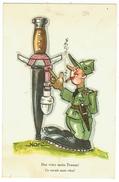 Suisse // Schweiz // Switzerland //  Militaire //  Carte Humoristique - Humor