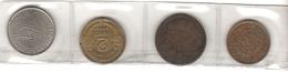 Lot Of 4 World Coins - Kilowaar - Munten