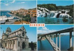 SIBENIK, Croatia, Multi View, Used Postcard [20137] - Croatia