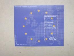 Kroatien  BL  Mitläufer  Beitritt Kroatiens Zur Europäischen Union   2013      ** - Europäischer Gedanke
