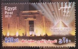 E24 - Egypt 2010 MNH Stamp - Sound & Light Festival, Edfu Temple - Egypt